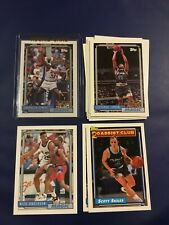 1992-1993 Topps ORLANDO MAGIC Complete Team Set 14 SHAQUILLE O'NEAL ROOKIE #362