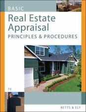 Basic Real Estate Appraisal : Principles and Procedures by Richard M. Betts and…