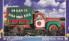 NEW Puzzlebug 500 Piece Jigsaw Puzzle ~ Organic Strawberries Farm Truck