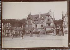 France, Normandie, Chalet Boin, ca.1900, vintage citrate print Vintage citrate p