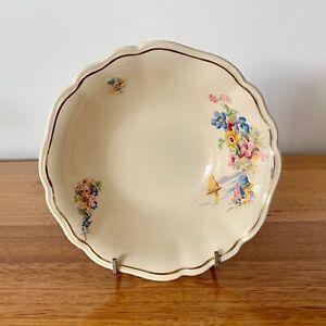 Vintage J&G Meakin 'Jacobean Ware' Bowl, Reg 17418. Made in England