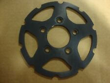 BIG DOG MOTORCYCLES BLACK ANNODIZED 2008 MUTT REAR BRAKE ROTOR CARRIER CENTER