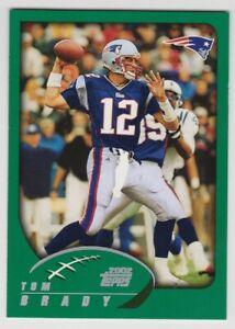 2002 TOM BRADY Topps #248 First Topps Card New England Patriots