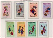 VIETNAM du NORD N°768/775** Danses, 1972 Vietnam 677-684 Tay folk dances MNH