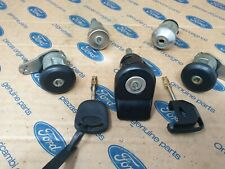 Genuine Ford Lock set for Escort Mk5 with central locking. (90/94) All models