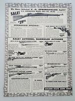 1957 Golden State Arms Pasadena Springfields Mausers Krag Vtg Magazine Print Ad