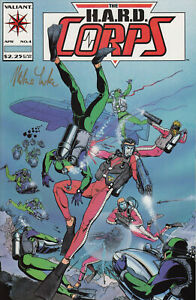 Valiant Comics The H.A.R.D. Corps No. 4 (Signed) of 30, 1993 Very Fine