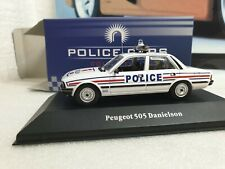 ATLAS - PEUGEOT 505 POLICE  - 1/43.SCALE - POLICE CAR COLLECTION