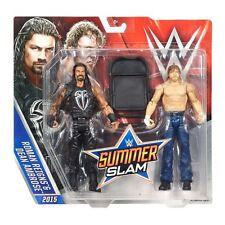 Mattel WWE battle packs summerslam heritage roman reigns & dean ambrose figures