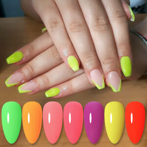 Luminous Acrylic Powder Fluorescence Effect Nail Art Pigment Powder Decor DIY