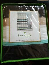 "Kate Spade Shower Curtain ""Candy Shop Stripe"""