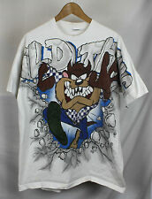 Vintage 90's 1995 Looney Tunes Taz All Over Print T-shirt Sz XL