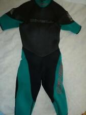 "Vintage Bob La Point O'Neill Men M? 33"" chest Teal Green/Blk/Grey Shorty Wetsuit"