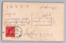 New Lebanon Ohio 1908 Type 2/2 Doane Cancel Farmersville 1907 DPO 1833-1963 RPPC
