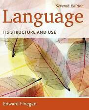 Language: Its Structure and Use by Edward Finegan (Paperback, 2014)