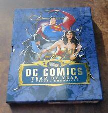 DC Comics Year By Year VF/NM 2010 Graphic Novel Superman Wonder Woman Batman