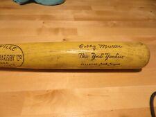 NY Yankees Bobby Murcer Bat Day Little League Bat