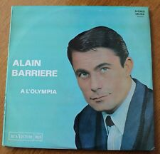 Alain Barriere, A l'Olympia, LP - 33 tours Stereo -  pochette poster