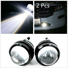 2 Pcs 5W CREE LED Fish Eye White Car Pickup Fog Light DRL Daytime Running Lamps