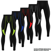 Mens Compression Tights Base Layer Gym Sports Shirt Under Armour Pant Trousers