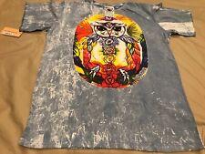 New Yoga Tshirt Meditation Om Mandala Chakras No Time Thailand Cotton Vintage