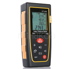 40M 131ft  Handheld Digital Laser Distance LCD Meter Range Finder Measure Tape