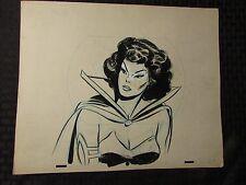 1960's SUB-MARINER TV Animation Cartoon Production Art LADY DORMA Sc23