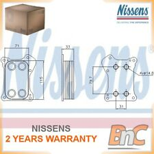 ENGINE OIL COOLER NISSENS OEM 55258602 90739