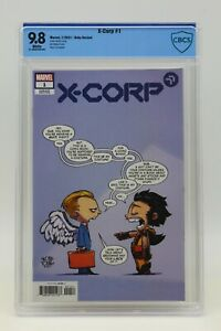 X-Corp (2021) #1 Skottie Young Baby Variant CBCS 9.8 Blue Label White Pages