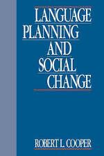 Language Planning and Social Change, Cooper, Robert