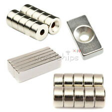1510pcs N35 N50 N52 Magnet 2030x10x5mm 40x10x4mm Rare Earth Neodymium With Hole
