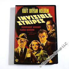 Invisible Stripes DVD New George Raft Jane Bryan William Holden Humphrey Bogart
