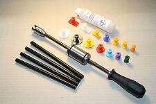 Ausbeulwerkzeug Dellenlifter mit 14 Klebeadaptern PDR 4x Klebesticks Kleberlöser