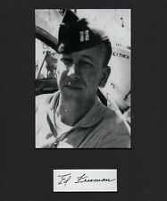 "We Were Soldiers Ed ""Too Tall"" Freeman Vietnam SIGNED CUT Medal of Honor MOH"