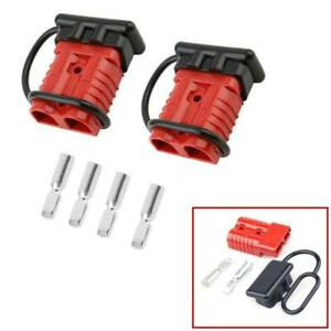 New 600V 175A Battery Connect Disconnect Electrical Plug For Winch/Trailer/Truck
