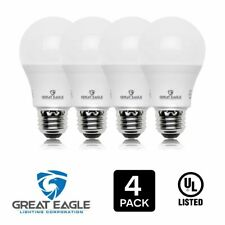 Great Eagle A19 100W Equivalent Dimmable LED bulb: 2700K/3000K/4000K/5000K (4)