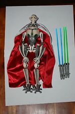 "General Grievous 12"" Figure-Hasbro-Star Wars 1/6 Scale Customize Side Show"