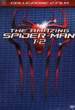 COLLEZIONE 2 film THE AMAZING SPIDER MAN 1 + 2 DVD