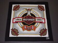 free shipping additional bandanas* Nos vtg Harley Davidson bandana *handkerchief