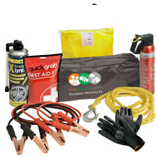 UK Travel Breakdown Kit Includes Tow Rope Hi Vis Vest And More Staycation Home
