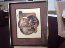 Original Lindsey Fisher Framed Contemporary Art