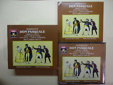 Donizetti: Don Pasquale (CD, May-1988, 2 Discs, EMI Music Distribution)-421