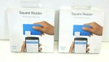 Lot Of 2 Square Reader Ccept Credit Debit Card for Apple iPhone and Android