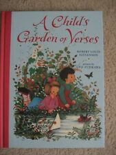 Child's Garden of Verses Hardcover Robert Louis Stevenson Pictures Gyo Fujikawa