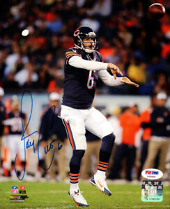 JAY CUTLER AUTHENTIC AUTOGRAPHED SIGNED 8X10 PHOTO CHICAGO BEARS PSA/DNA 102500