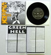 """SLIMY VENEREAL DISEASES 7"""" 45 EP Second Vegetarian Disaster SKULD Grindcore"""