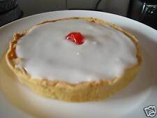 "HOMEMADE LARGE VEGAN BAKEWELL TART CAKE 6"" DIAMETER"