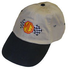 MG Checkered flag logo  -  Embroidered hat