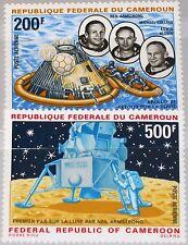 CAMEROUN KAMERUN 1969 600-01 C135-36 1st Moon Landing Mondlandung Space MNH