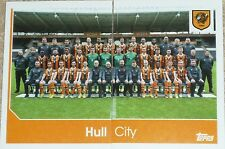 102 & 103 HULL CITY team 2016/2017 Topps Merlin Premier League stickers